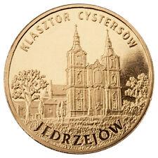 POLONIA: 2 Zl. 2009 JEDRZEJOW ciudades Polacas  POLAND monasterio cisterciense