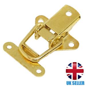 QUALITY Brass Toggle Catch Tool/Cabinet/Suitcase/Box/Cupboard Clip Case Lock UK