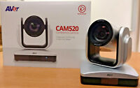 AVer CAM520 USB PTZ Plug-N-Play Video Conferencing Camera