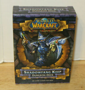 WOW World of Warcraft ~ Shadowfang Keep Dungeon Deck ~ NEW & SEALED