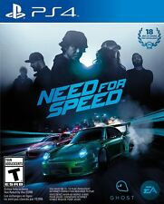 Need for Speed PlayStation 4 Ps4 Games Sony Brand New Factory Sealed