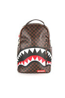 Sprayground Zaino uomo Shark In Paris Brown 910B1890NSZ