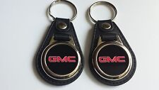 GMC 2 PACK OF Keychains  RED/BLACK ITEM R.U.C.