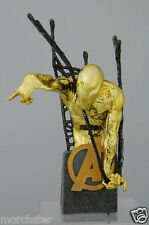 SPIDERMAN BUST 62/100 GOLD CHROME WIZARD WORLD EXCLUSIVE AVENGERS MARVEL STATUE