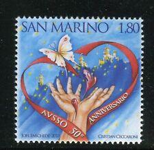 San Marino 100 affrancature da € 1,10  sotto facciale in vendita al 70%  netto