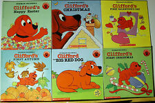 Lot 17 PB Clifford the Big Red Dog Series of Picture books by Norman Bridwell L2