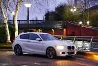 2013 BMW 1 series 116d MSport looks 3dr Manual staggered 19'' alloys £0 tax
