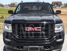 2016-2018 GMC Sierra 1500 SLT black grille insert mesh grill overlay trim