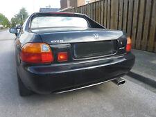 Honda CRX schwarz