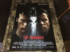 The Punisher Signed 2004 Marvel Comics 1-Sheet Movie Poster Creator Gerry Conway