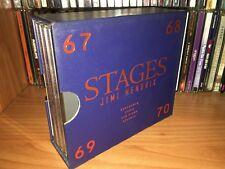 JIMI HENDRIX STAGES RARE BOX 4 CD STOCKHOL PARIS SAN DIEGO ATLANTA LIMITED