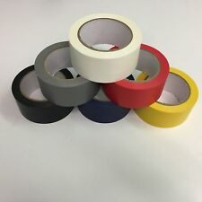 PVC 48mm x 33m Floor Marking Tape for Sports Hall Arena Court Tennis Badminton