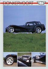 Prospekt GB Donkervoort S8A 1989 1 Blatt Autoprospekt Auto PKWs brochure