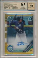 JULIO RODRIGUEZ 2019 BOWMAN CHROME RC GOLD REFRACTOR AUTO SP #/50 BGS 9.5 GEM 10