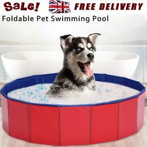 Large Dog Puppy Pool Pet Bath Swimming Pool Portable Foldable Paddling Bathing