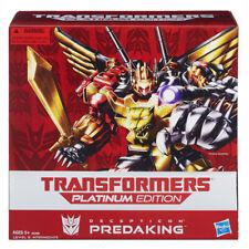 Predaking Combiner Set of 5 | Transformers Platinum Edition G1 Reissues Predacon