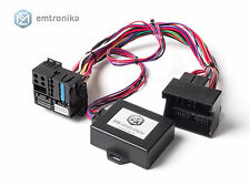 Plug and play BMW X5 E70 X6 E71 CIC retrofit navigation voice adapter emulator