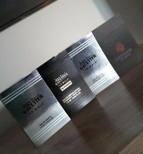 Jean Paul Gaultier Le Male ..4 Herren Parfum Proben..Neu..