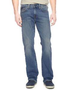 NEW Men's True Religion Billy Big & Tall Bootcut Jeans W 46 x L 33