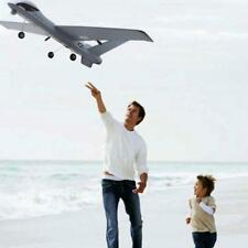 UK Remote Control Airplane Aircraft 2.4G 2CH RTF Grey EPP Foam Plane Glider