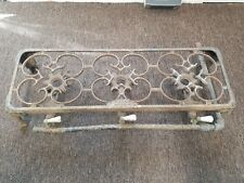 Rare Antique Cast Iron 3 Burner Gas Grill / Stove - HTF  ( Griswold ??? )