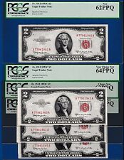 Fr.1512  $2  1953 C  LEGAL TENDER RED SEAL- ONE BIRTH YEAR SERIAL # 1958 TO 1979