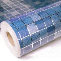 5m Mosaic Wallpaper Self Adhesive Kitchen Wall Stickers Oil Proof Waterproof DIY