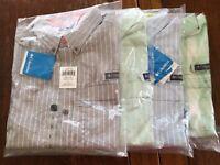 NWT Columbia  Super Harborside Men's Woven Long Sleeve Shirt Size S Small