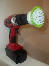 1 Nifty Drill Powered Scrub Brush For Household & Bathtub Cleaning