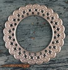 Metal Cutting Die - Small DOILY FRAME Lace Daisies Flowers (051)