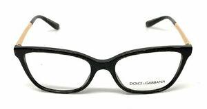 Dolce & Gabbana D&G 3317 3218 52mm Eyeglasses RX Optical Glasses Frames Eyewear