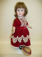 "13.5"" Antique Bisque Doll Marked Roma Austria PR 1913 Possibly Paul Rauschert"