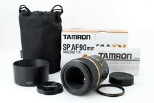 Tamron SP AF 90mm f/2.8 Di Macro 272E Lens for Pentax Japan  [Very good] #975A