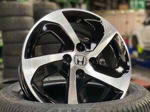 [Free Shipping] Genuine Used 15 inch Honda FIT wheel PCD 4x100 (Set of 4) BLACK