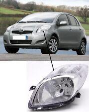 Toyota Yaris 2009 - 2012  Headlight Headlamp  Passenger Side Near Side Left Side