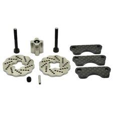 Hot Racing SJT39DG Traxxas Jato Dual Steel Wave Disc Brakes w/ Carbon Fiber Pads