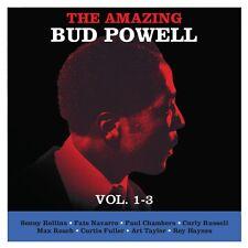 Bud Powell THE AMAZING BUD POWELL, VOLUMES 1-3 Jazz Music NEW SEALED 3 CD