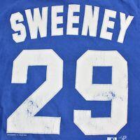 Kansas City Royals Mike Sweeny #29 Lee Sports Vintage VTG Tshirt Mens Size L/XL