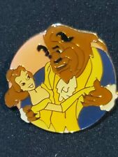 Disney pin Disney Channel 10th Anniversary 1993 vintage Belle and Beast batb a15