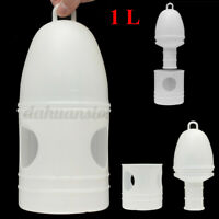 1000ML Removeble Plastic Drinker With Handle For Pigeons Birds Supplies White