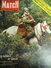 PARIS MATCH N° 539 de 1959 ALGÉRIE BATAILLE KABYLIE CASTRO