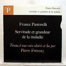 PIERRE FRESNAY, FRANCE PASTORELLI servitude et grandeur de la maladie CFD LP EX+