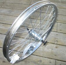 Wheel 20 X 1.75 Coaster Brake Rear Chromed Steel W/Brake Band 18T Bolt On NEW