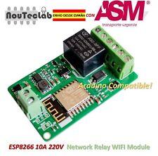ESP8266 WIFI Relay 10A 220V Network Relay WIFI Module Input DC 7V~30V