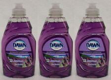 3 Dawn Ultra Escapes Mediterranean Lavend Scent Dish-washing Liquid Soap 9 fl oz