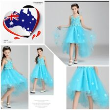 long tail/ High Low Flower Girls  Formal/Party Dresses