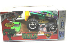 Rare 2002 Tyco R/C Monster Jam Remote Control The Incredible Hulk Truck + Box