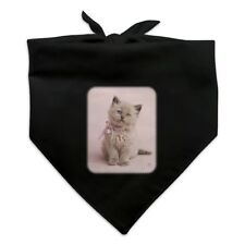 Miradoll Ragdoll Cat Kitten Pink Ribbon Bow Dog Pet Bandana