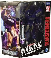 Transformers SIEGE War for Cybertron Trilogy Shockwave WFC-S14 Leader Figure Toy