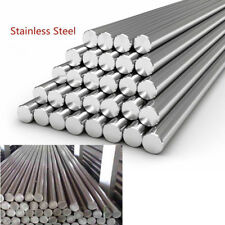 Stainless Steel 304 Round Solid Metal Bar Rod Dia 3-14mm Length 125mm-500mm